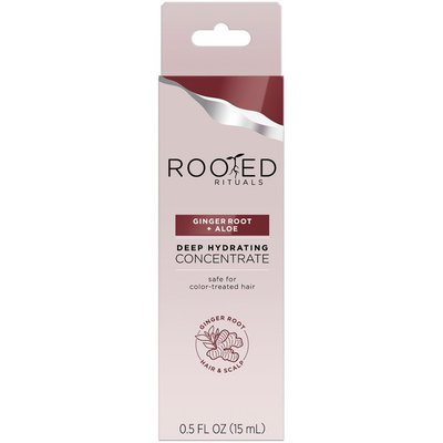 Rooted Ritual Ginger Root + Aloe Deep Hydrating Concentrate Treatment