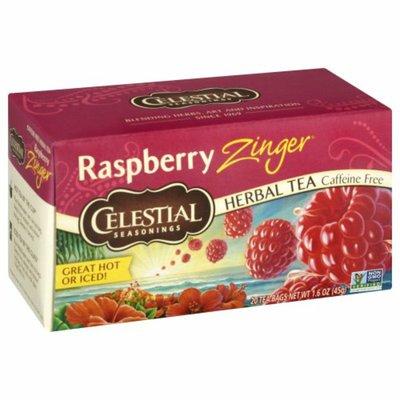 Celestial Seasonings Raspberry Zinger Caffeine Free Herbal Tea