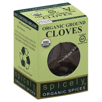 Spicely Cloves, Ground, Organic