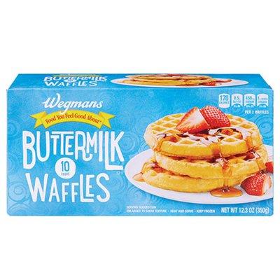 Wegmans Buttermilk Waffles