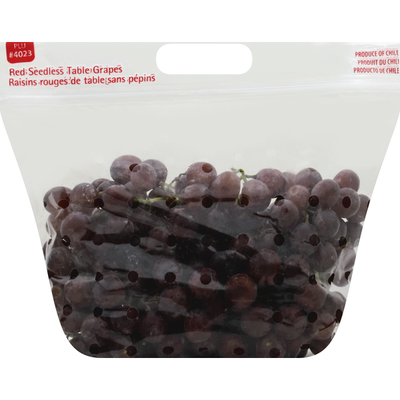 Produce Red Seedless Grapes