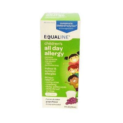 Equaline Children's All Day Allergy 24 Hr Relief Grape Flavor
