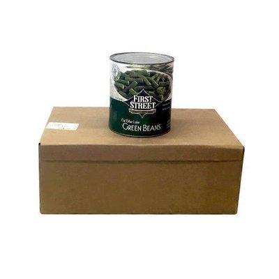 First Street Case Of Cut Green Beans