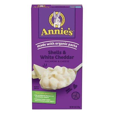 Annie's Macaroni & Cheese, Shells & White Cheddar