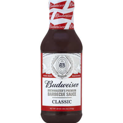 Budweiser Brewmaster's Premium Barbecue Sauce Classic
