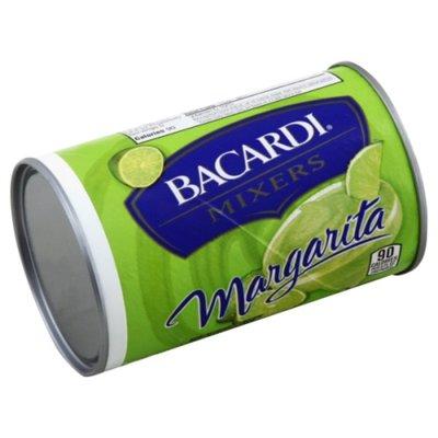 Bacardi Mixers Bacardi Mixer Margarita Can