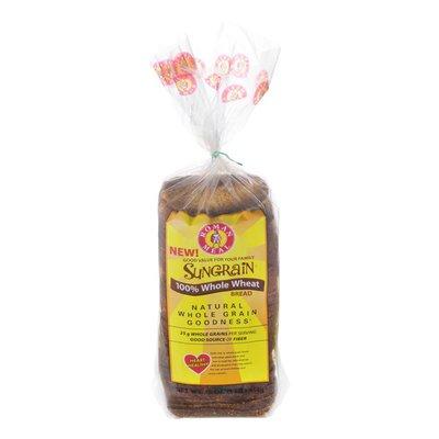 Sungrain 100% Whole Wheat Bread