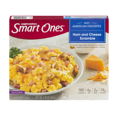 Smart Ones Ham & Cheese Scramble with Egg Whites, Ham, Potatoes & Cheese Frozen Meal