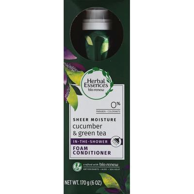 Herbal Essences BioRenew Cucumber & Green Tea In The Shower Foam Conditioner