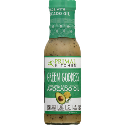 Primal Kitchen Dressing & Marinade, Green Goddess