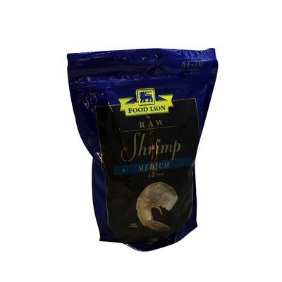 Food Lion Shrimp, Raw, Small, Pouch
