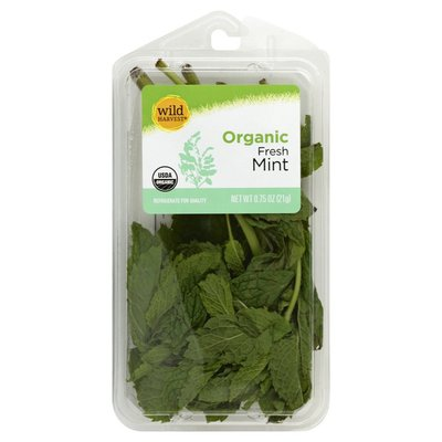 Wild Harvest Mint, Organic, Fresh