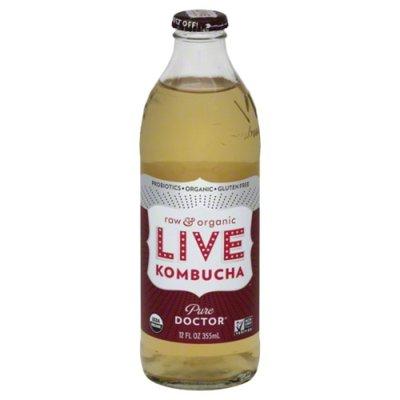 Live Soda Soda, Raw & Organic, Pure Doctor