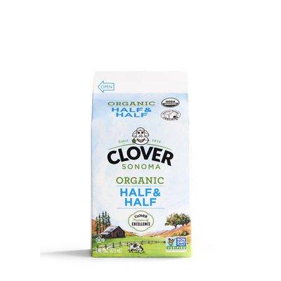 Clover Sonoma Organic Half & Half Pint