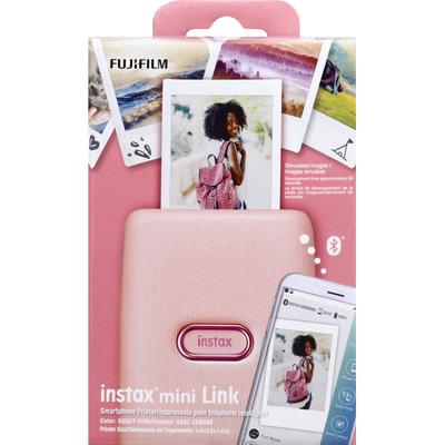 Instax Smartphone Printer, Mini Link, Dusky Pink