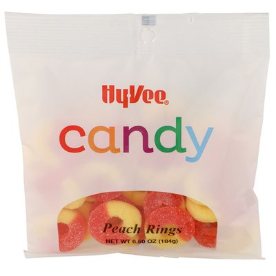 Hy-Vee Peach Rings Candy