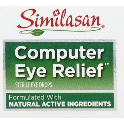 Similasan Eye Relief, Computer, Eye Drops