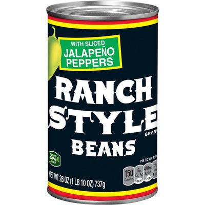Ranch Style Beans Beans With Jalapeno