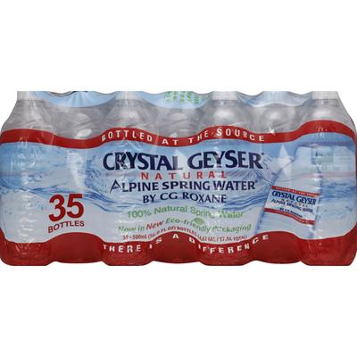 Crystal Geyser Alpine Spring Water Water, Alpine Spring
