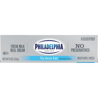 Philadelphia Neufchatel Cheese with a Third Less Fat than Cream Cheese
