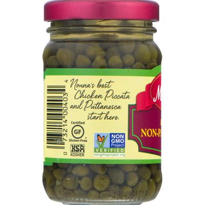 Mezzetta Capers, Non-Pareil, Imported