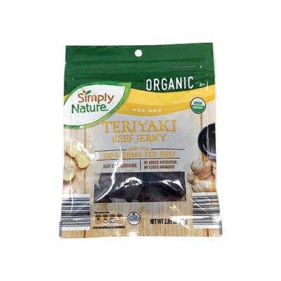 Simply Nature Organic Teriyaki Beef Jerky