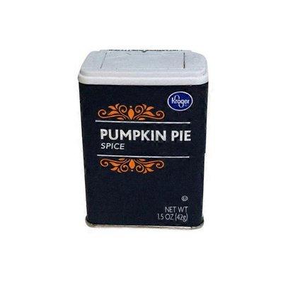 Kroger Pumpkin Pie Spice