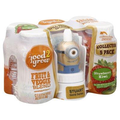 Good 2 Grow Fruit & Veggie Blend, Strawberry Kiwi, Stuart Gold Series, 5 Pack