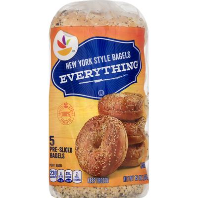 SB Bagels, Everything, New York Style