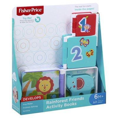 Fisher-Price Activity Books, Rainforest Friends