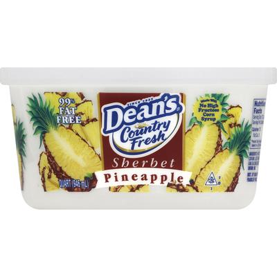 Dean's Sherbet, Pineapple