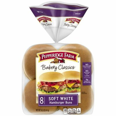 Pepperidge Farm Soft White Hamburger Buns