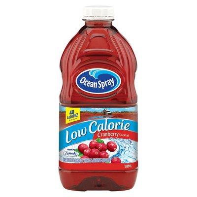 Ocean Spray Low Calorie Cranberry Juice Cocktail