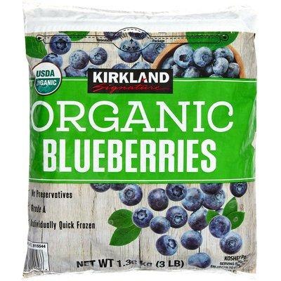 Kirkland Signature Organic Blueberries, 3 lb