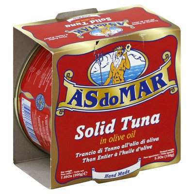 As Do Mar Solid Tuna, in Olive Oil