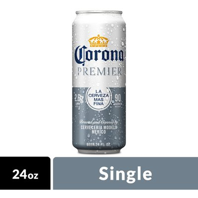 Corona Premier Mexican Lager Light Beer Can