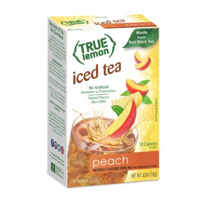 True Lemon Peach Iced Tea
