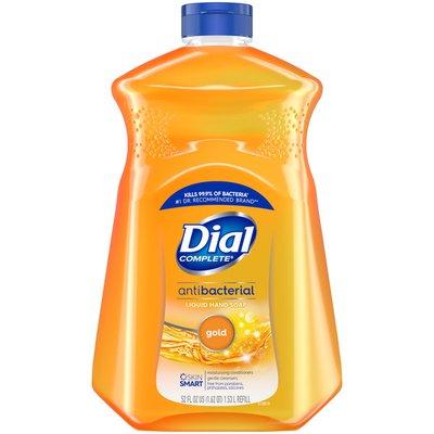 Dial Antibacterial Liquid Hand Soap Refill, Gold