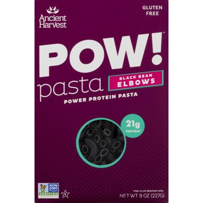 Ancient Harvest POW! Pasta Black Bean Elbows Power Protein Pasta 21g