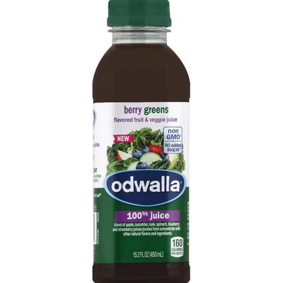 Odwalla 100% Juice, Berry Greens