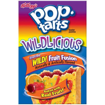 Kellogg's Pop-Tarts Wildlicious Frosted Wild! Fruit Fusion Toaster Pastries