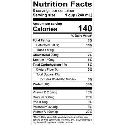 Organic Valley Grassmilk Reduced Fat Organic 2% Milk