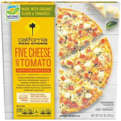 California Pizza Kitchen Five Cheese and Tomato Crispy Thin Crust Frozen Pizza