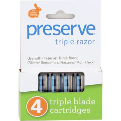 Preserve Triple Blade Cartridges