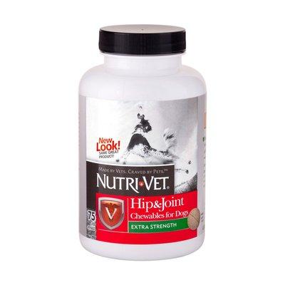 Nutri-Vet Hip & Joint Plus Level 2 Chewables Liver - 75 CT