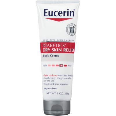 Eucerin Diabetics Dry Skin Relief Body Creme