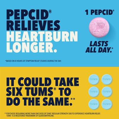 Pepcid Complete Acid Reducer + Antacid Chewable Tablets, Berry