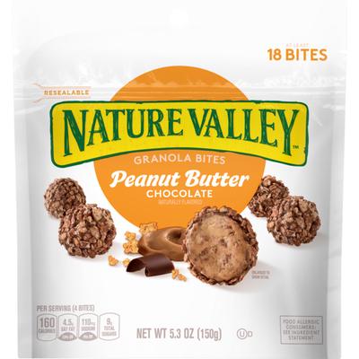Nature Valley Granola Bites Peanut Butter Chocolate