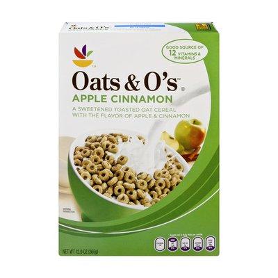 SB Cereal, Apple Cinnamon Oats & O's.