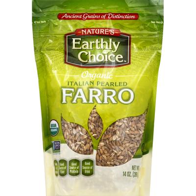 Nature's Earthly Choice Farro, Italian Pearled, Organic